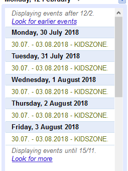 KIDS ZONE®ENGLISH SUMMER CAMP 2018 – PROGRAM & REGISTRATION